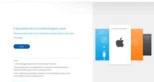 Iphone X schermo bianco come risolvere