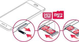 Nokia 8 inserire la SIM e scheda memoria