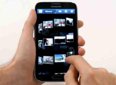 Samsung S8 ruotare foto nella galleria