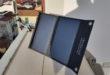Batteria solare e pannello solare integrato