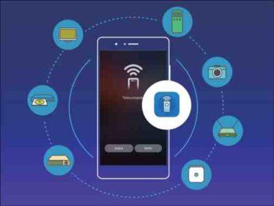 Huawei Mate 10 usare il telefono come telecomando per comandare televisore condizionatore daria lettore DVD fotocamere proiettore e canali streaming