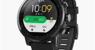 Smartwatch Xiaomi HUAMI AMAZFIT resistente all'acqua, resistente agli urti con tutte le funzioni dedicate agli sport ideale come regalo allo sportivo.