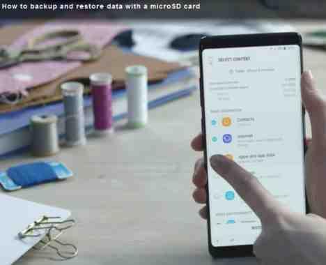 Galaxy S9 Salvare e ripristinare backup sul telefono Android Samsung La video guida che vi spiega come fare il backup dei dati sulla scheda di memoria esterna MicroSD.