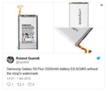 Samsung Galaxy S9 e Samsung Galaxy S9 Plus avranno la stessa batteria del Samsung Galaxy S8 e Samsung GAlaxy S8 Plus Quanto dura la batteria Galaxy S9