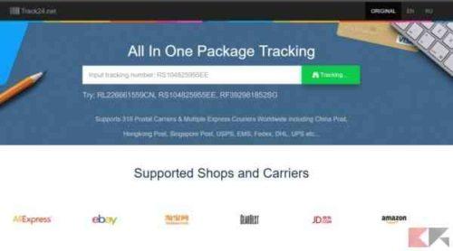 Come tracciare una spedizione dalla Cina Avete comprato su Ebay o su Amazon e il pacco arriva dalla cina ? Ecco come monitorare la spedizione dalla Cina