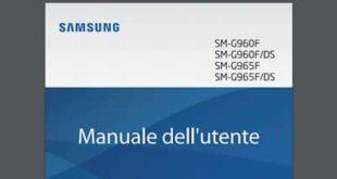 Samsung Galaxy S9 guida rapida e istruzioni per usare il telefono Top di Gamma Sasmung Download Libretto istruzioni italiano Galaxy S9 e Manuale istruzioni PDF Download gratis manuale italiano Pdf