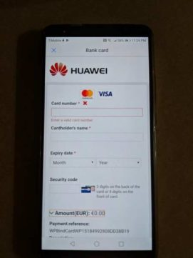 Scopriamo come si usa Huawei Pay quando in Italia, Huawei Pay con Fineco è compatibile o se Huawei Pay Unicredit funziona bene
