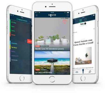 Squid La Migliore App di Notizie Gratuita