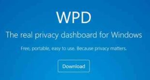 WPD il software che protegge la privacy su Windows 10