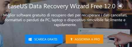 software recupero dati recuperare file cancellati