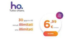Tariffa telefonica Low Cost HO MObile