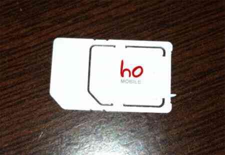 Scheda telefono HO Mobile