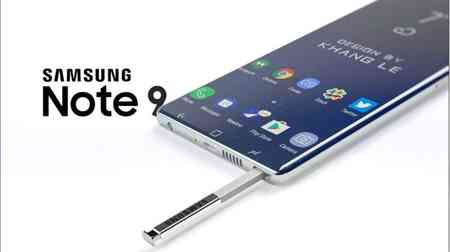 Galaxy Samsung Note 9
