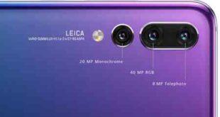 Huawei P20 Pro impostare fotocamera