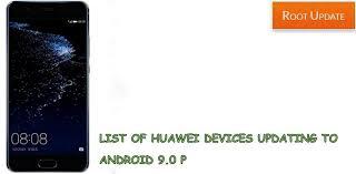 huawei aggiornamento android 9