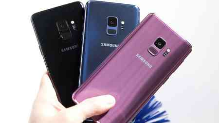 Galaxy S9 smartphone Android
