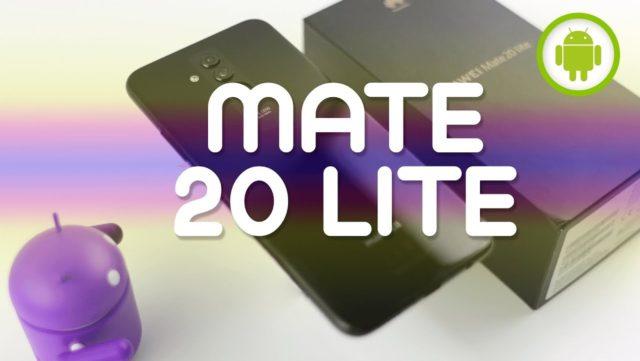 Huawei Mate 20 Lite come collegare il telefono a internet
