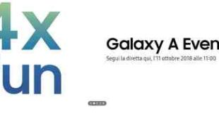 Galaxy A9 presentazione evento Samsung 4X Fun