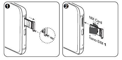 Come metter la SIM su Huawei Mate 20 Pro
