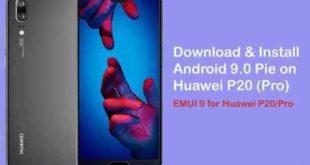 Come Aggiornare Huawei P20 ad Android 9 Pie