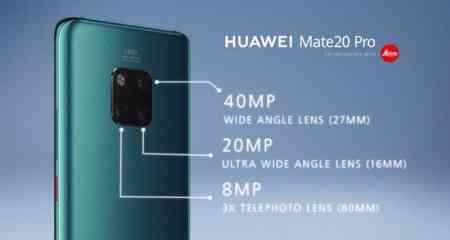 Foto panoramiche Huawei Mate 20 Pro