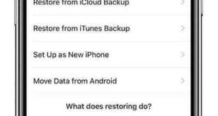 Come spostare i dati da iPhone