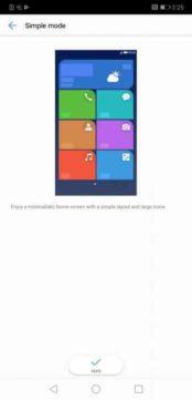 Modalità semplice Huawei Mate 20