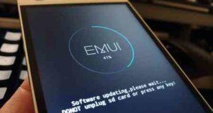 Aggiornamento software Huawei