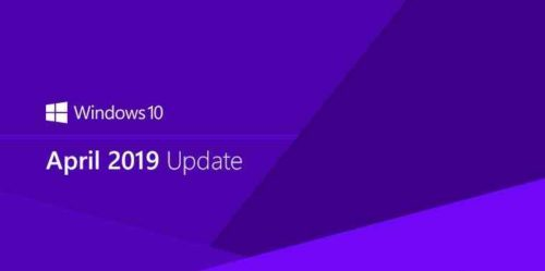 Aggiornamento Windows 10 Aprile 2019