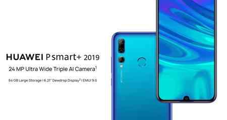 manuale istruzioni Huawei P smart+ 2019