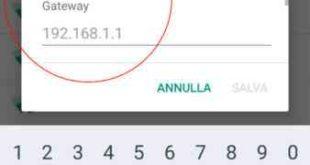 Come usare smartphone Huawei assegnare IP statico