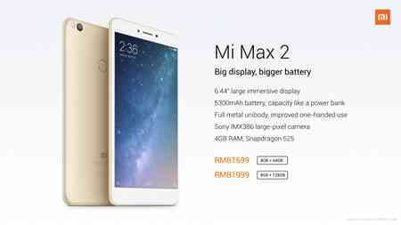manuale Xiaomi Mi Max 2