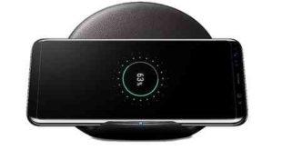 Guida uso smartphone Caricabatteria wireless Samsung