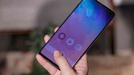 Galaxy S10 resistente all'acqua