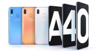 Manuale Samsung Galaxy A40