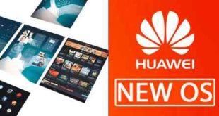 Huawei os proprietario
