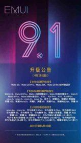 Aggiornamneto EMUI 91 Huawei Honor