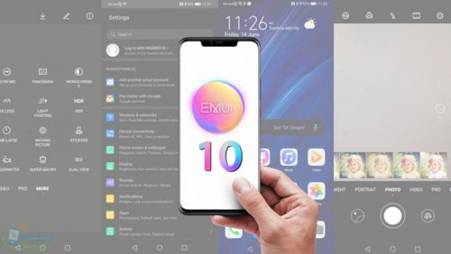 EMUI 10 Android Q Huawei