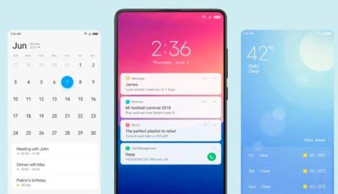 MIUI 11 Xiaomi