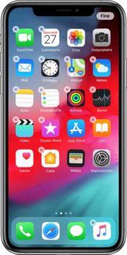 Creare cartella iPhone XR