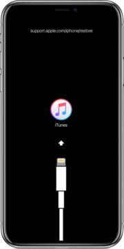 Modalità ripristino iPhone