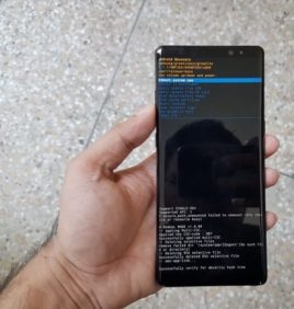 Samsung Note 10 Recovery Mode