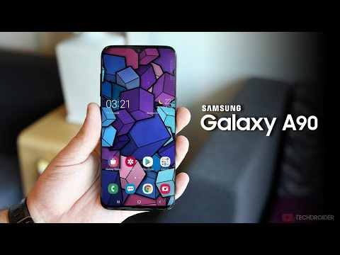 Samsung A90 smartphone Android