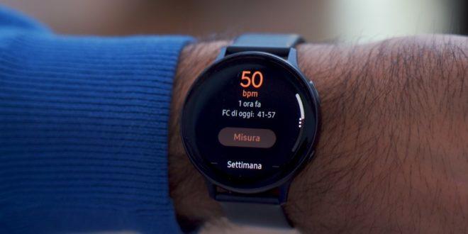 Istruzioni Samsung Watch Active 2 Guida uso smartwatch