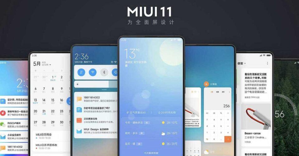 Miui 11 Xiaomi Redmi Note 8