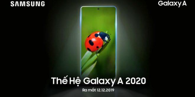 Galaxy A 2020 il nuovo Samsung arriva il 12 Dicembre