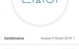 Emui 10 Huawei P Smart 2019