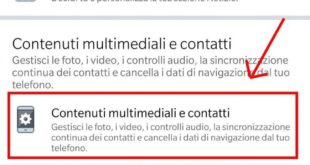togliere audio automatico video facebook