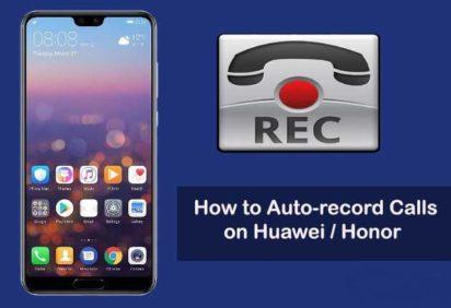Registare telefonate Huawei
