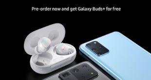 Galaxy S20 + Galaxy Buds